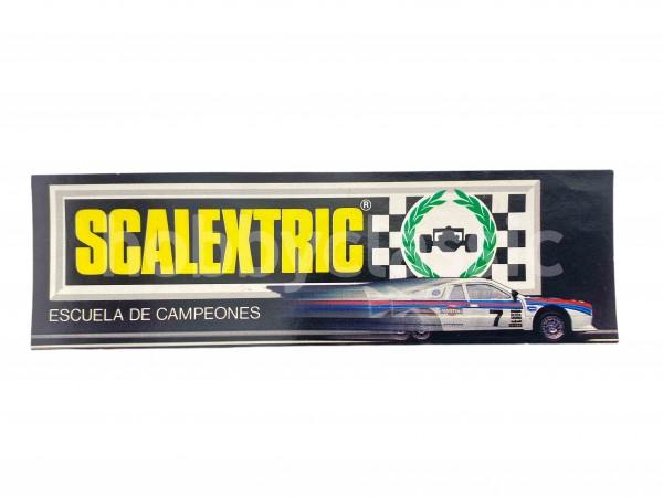 Adhesivo Scalextric - Escuela de Campeones