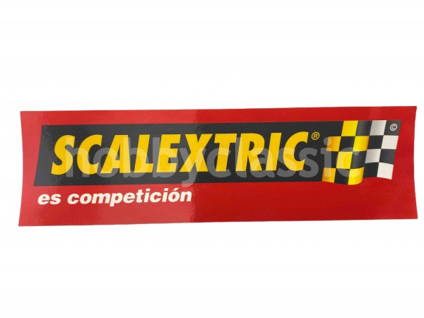 Adhesivo Scalextric - es competición