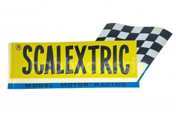 Adhesivo Scalextric - años 60
